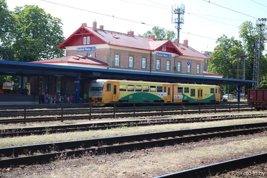 поезд Седлец - Кутна Гора