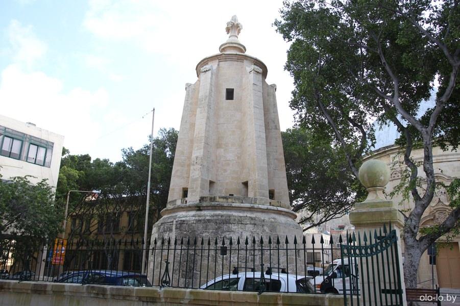 Водонапорная башня Виньякура, Мальта