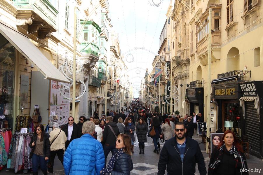улицы Валлетты