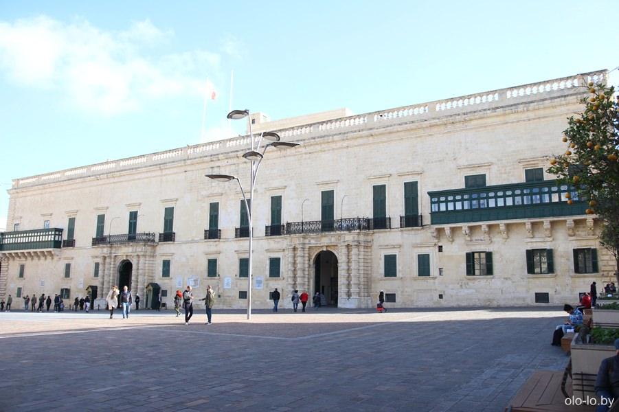 дворец Великого магистра, Валлетта