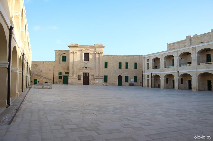 крепость Святого Эльма, Валлетта