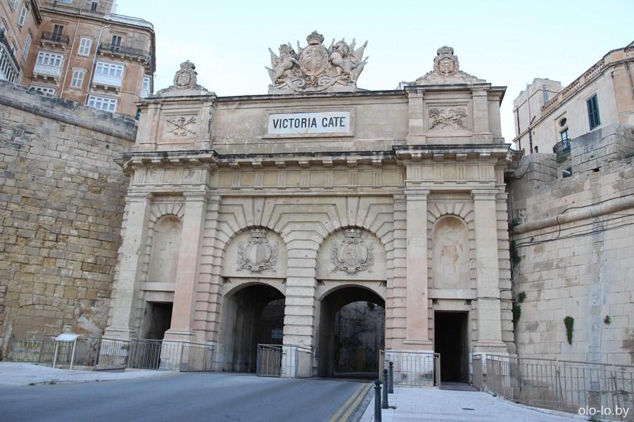 ворота Виктории, Валлетта