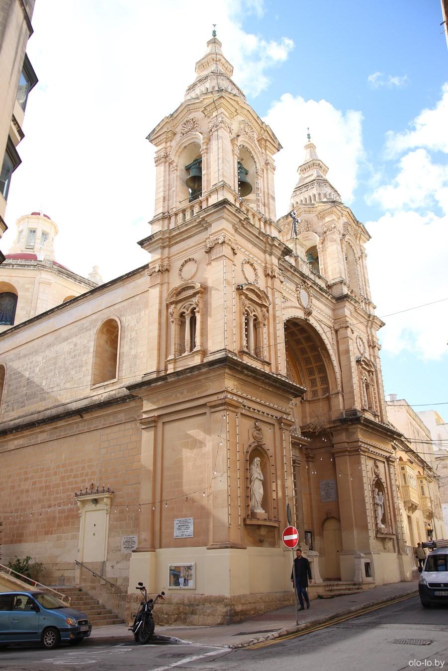 церковь Богородицы Звезды морей, Слима
