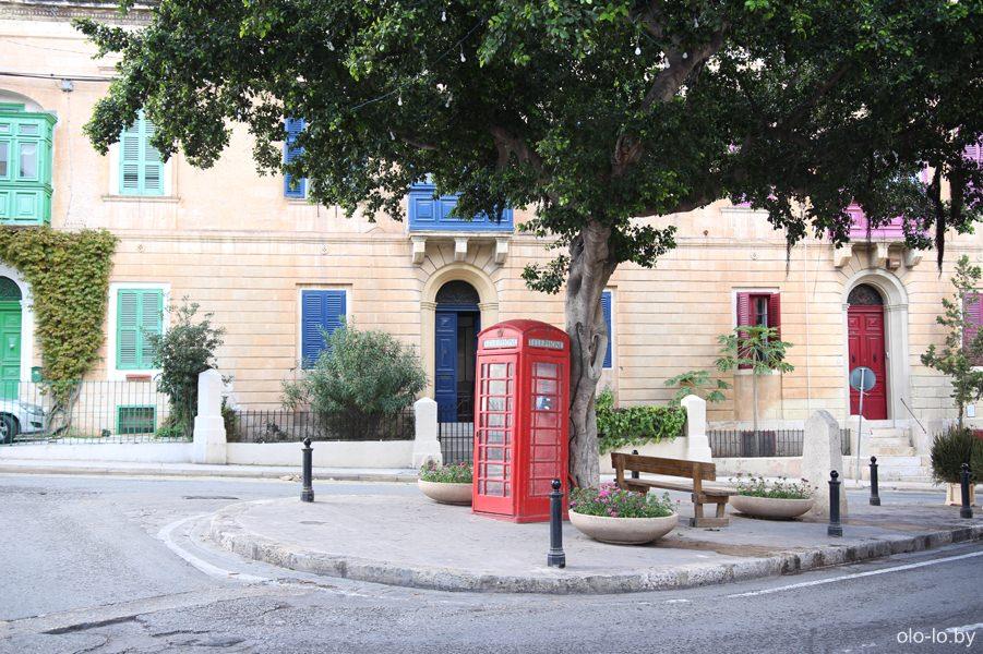 телефонная будка, Слима