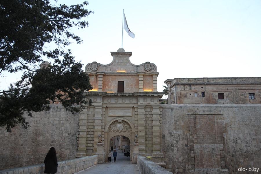 ворота Мдины