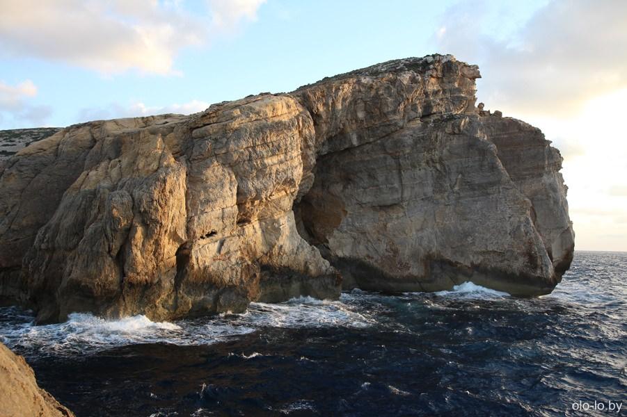 прибрежные скалы, Гоцо