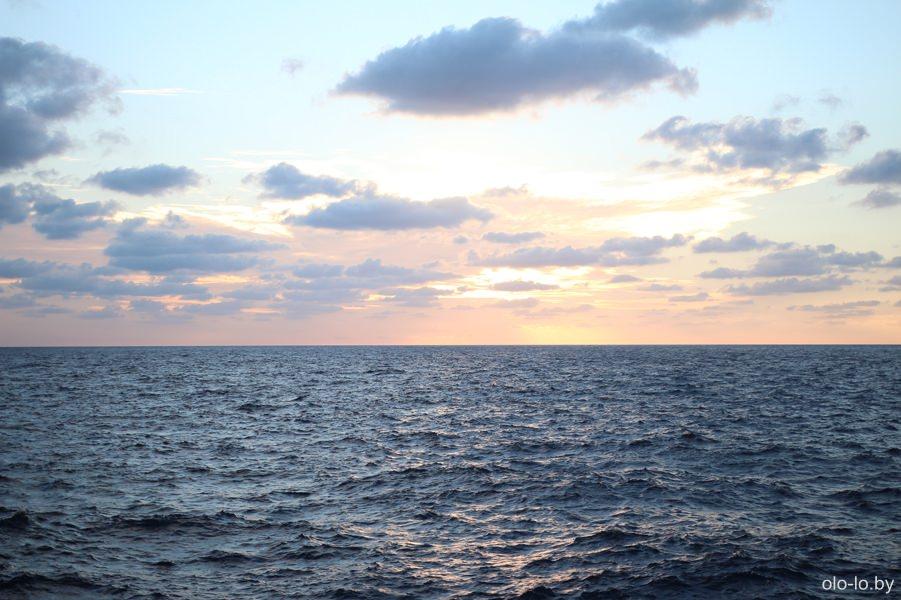 закат на Средиземном море, Гоцо