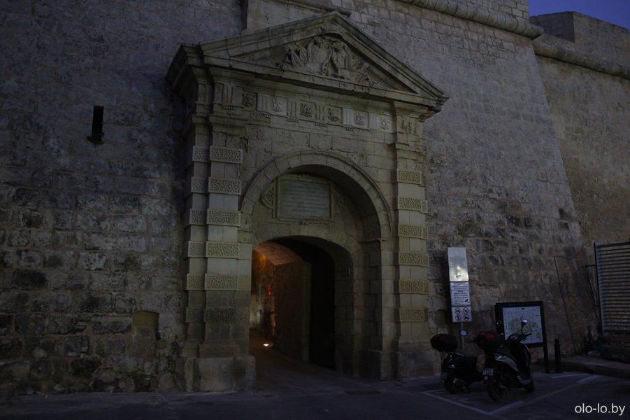 греческие ворота Мдины
