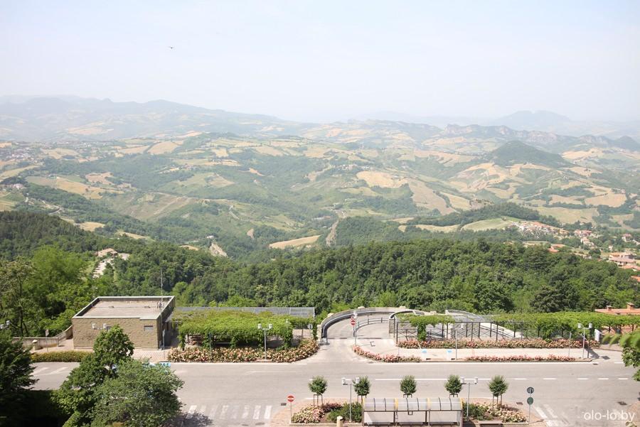 Панорама Сан Марино