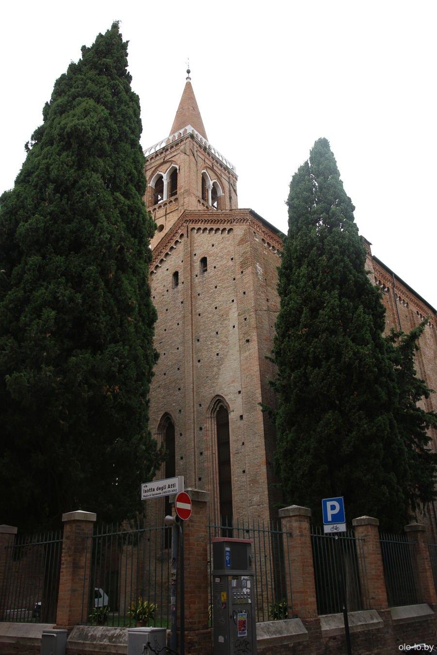 церковь Святого Августина, Римини