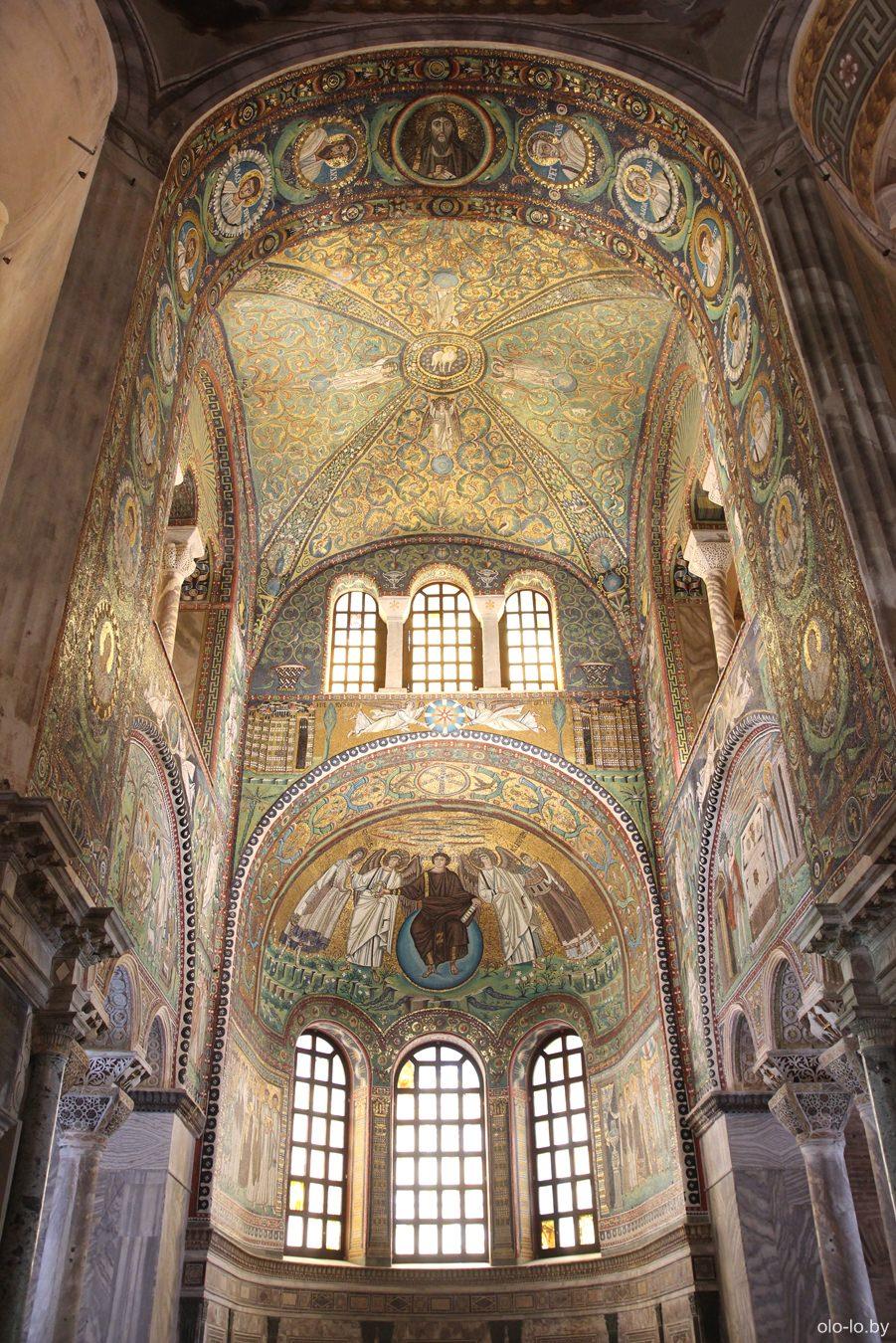 базилика Сан Витале, Равенна