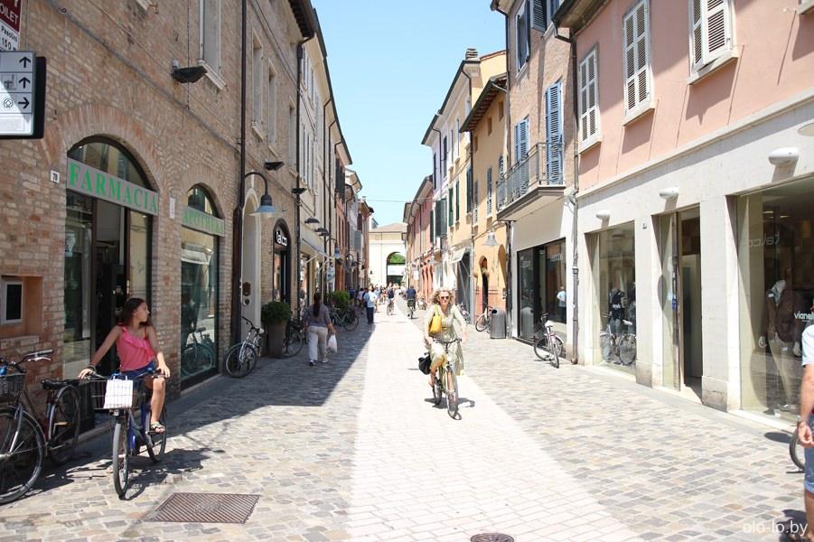 улицы Равенны
