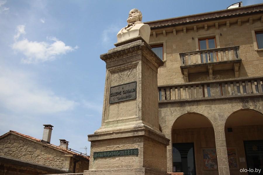 памятник Джузеппе Гарибальди, Сан Марино