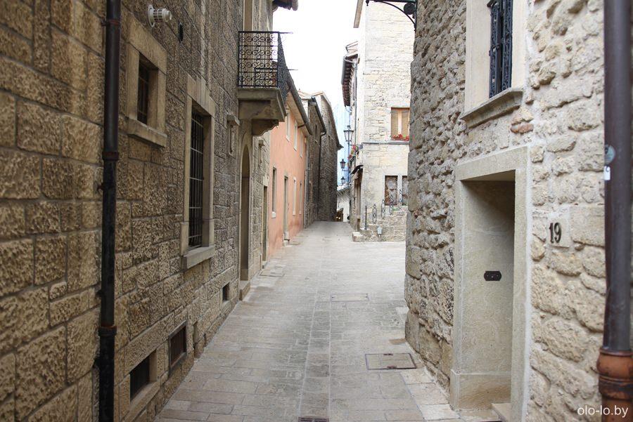 улицы Сан Марино