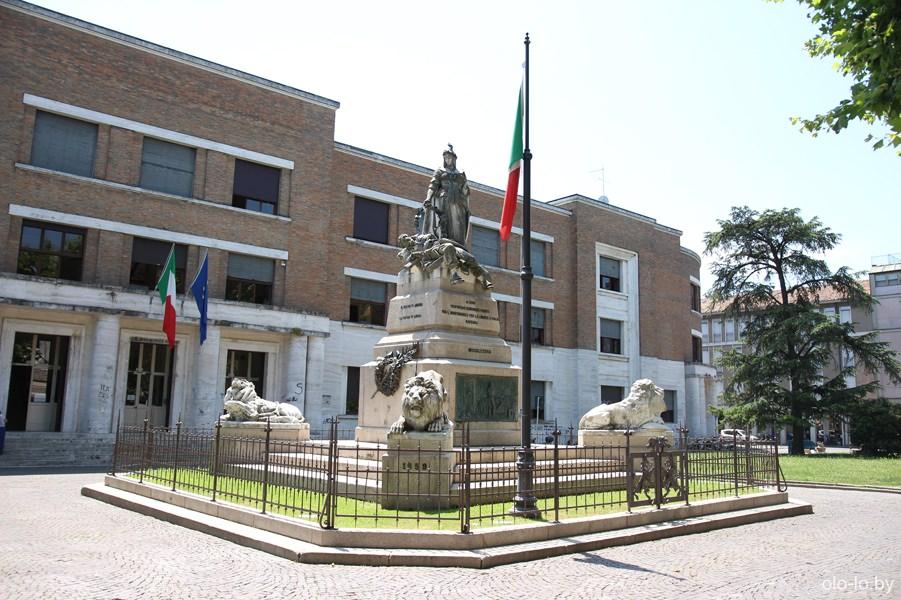 площадь Аниты Гарибальди, Равенна