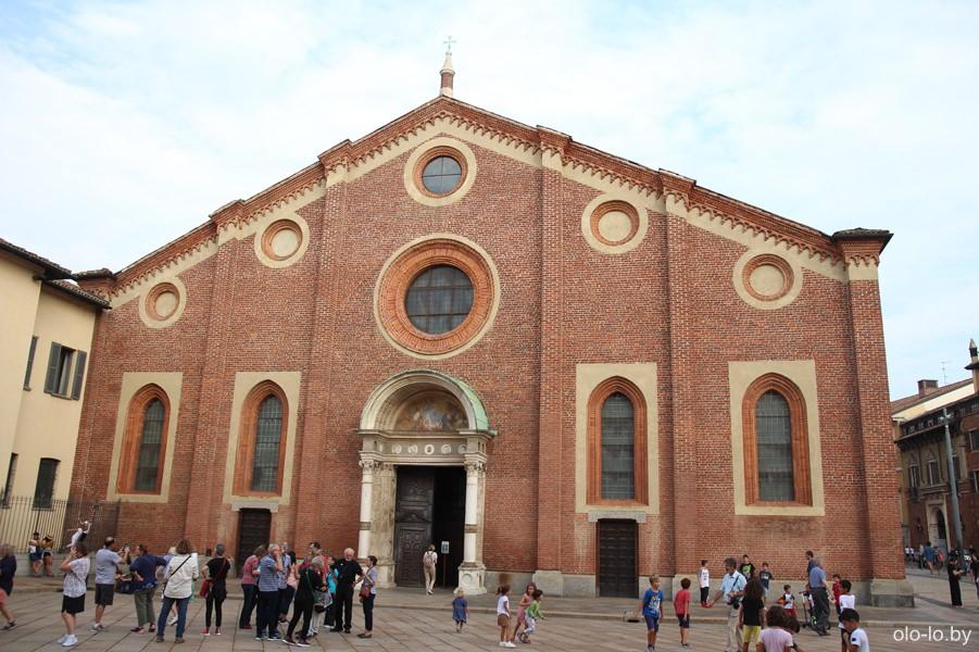 церковь Санта Мария деле Грацие, Милан