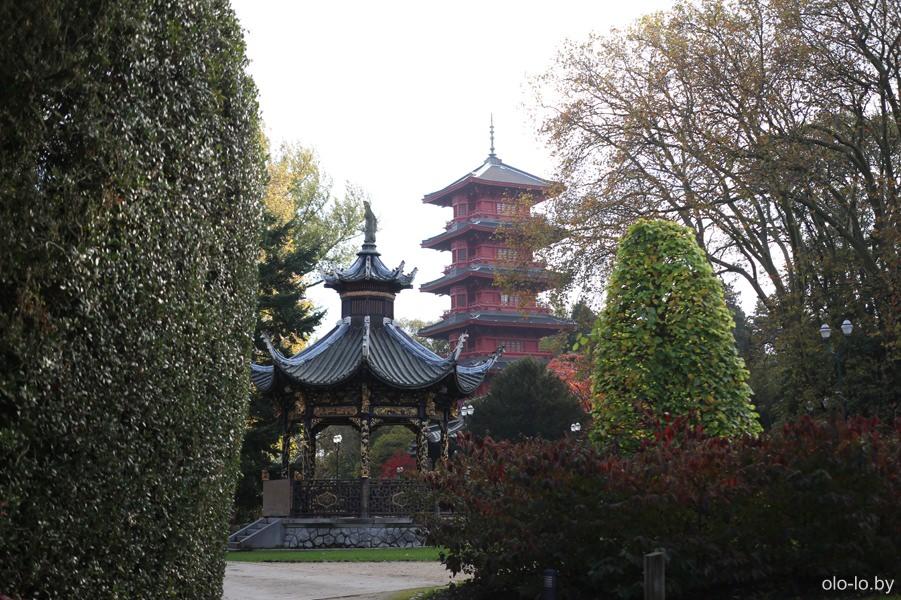 Китайский павильон и Японская башня, Брюссель