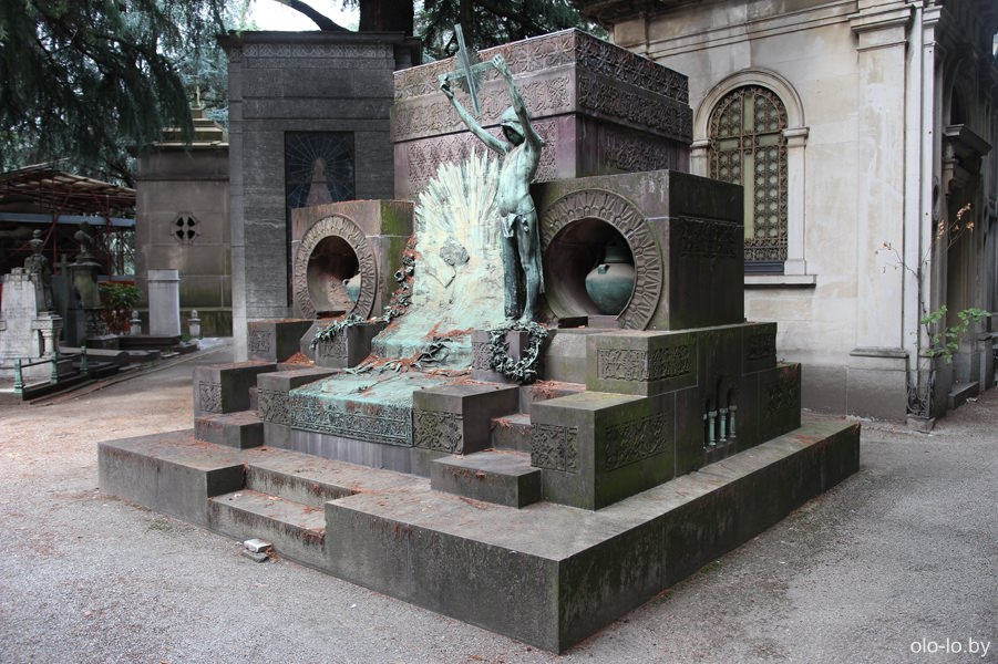 Монументальное кладбище, Милан