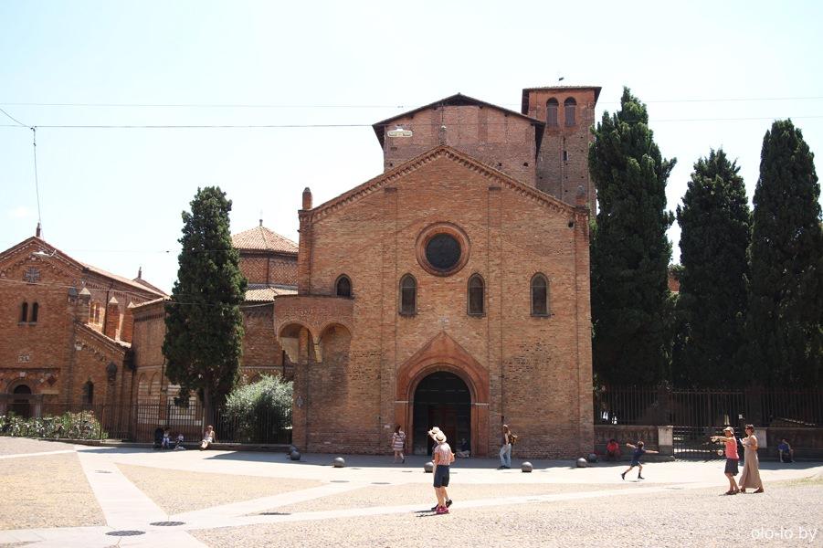 храмовый комплекс Сан-Стефано, Болонья