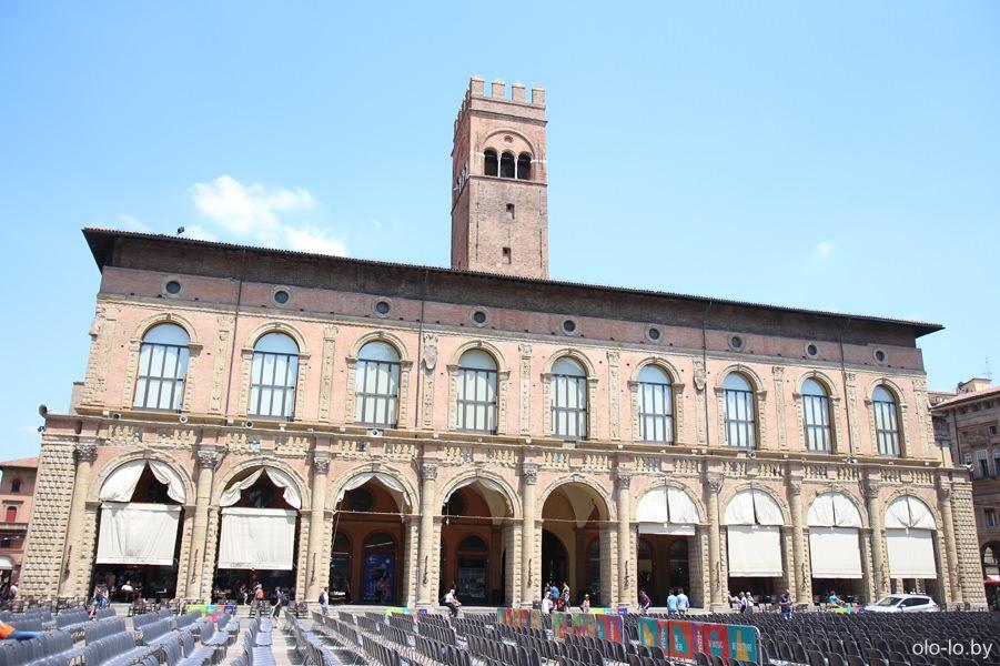 дворец Подеста, Болонья
