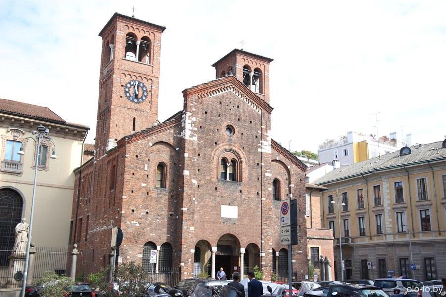 церковь Гроба Господня, Милан