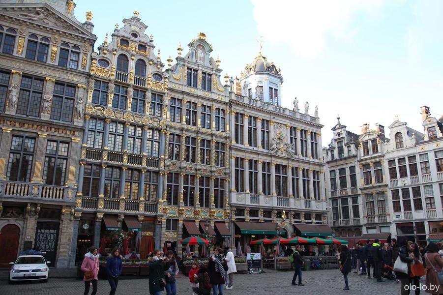 гильдейский дома на главной площади, Брюссель