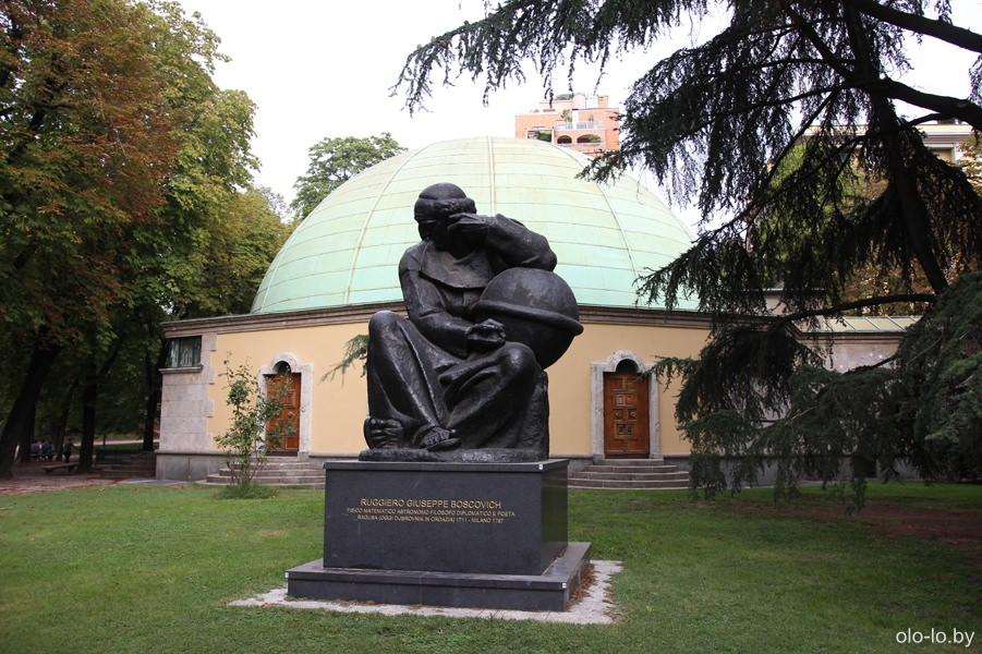 городской сад Индро Монтанелли, Милан