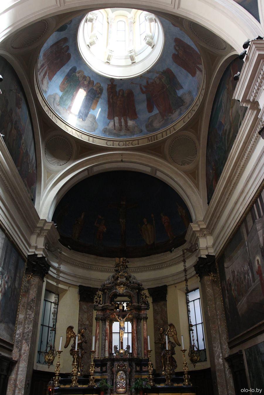 Церковь Сан-Джорджо аль Палаццо, Милан