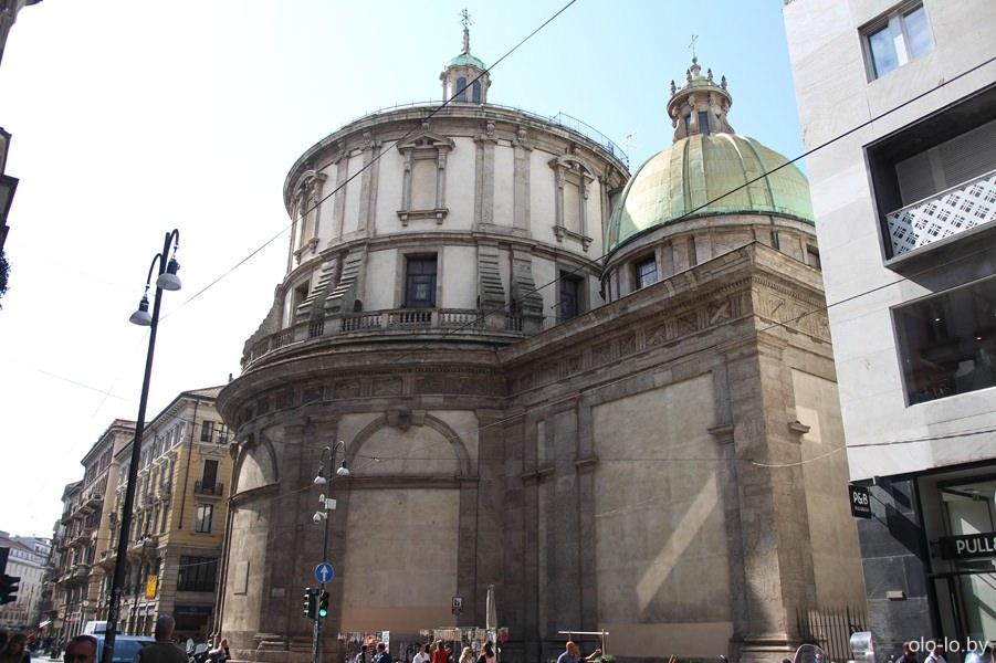храм Сан Себастьяно, Милан