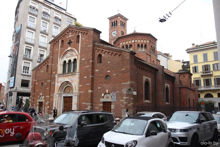 церковь Сан Бабила, Милан