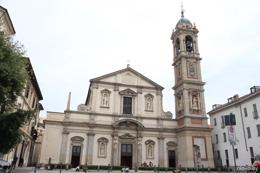 Базилика Сан-Стефано Маджоре, Милан
