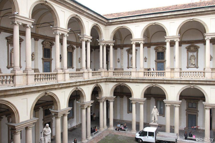 Академия Брера, Милан