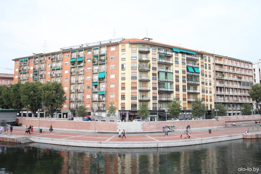 каналы Навильи, Милан