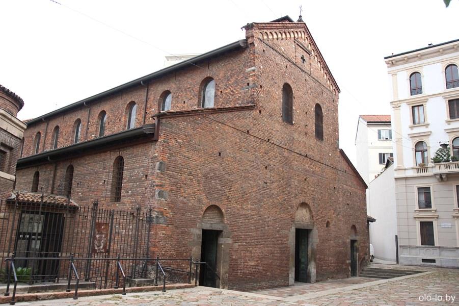 базилика Сан Винченцо в Прато, Милан