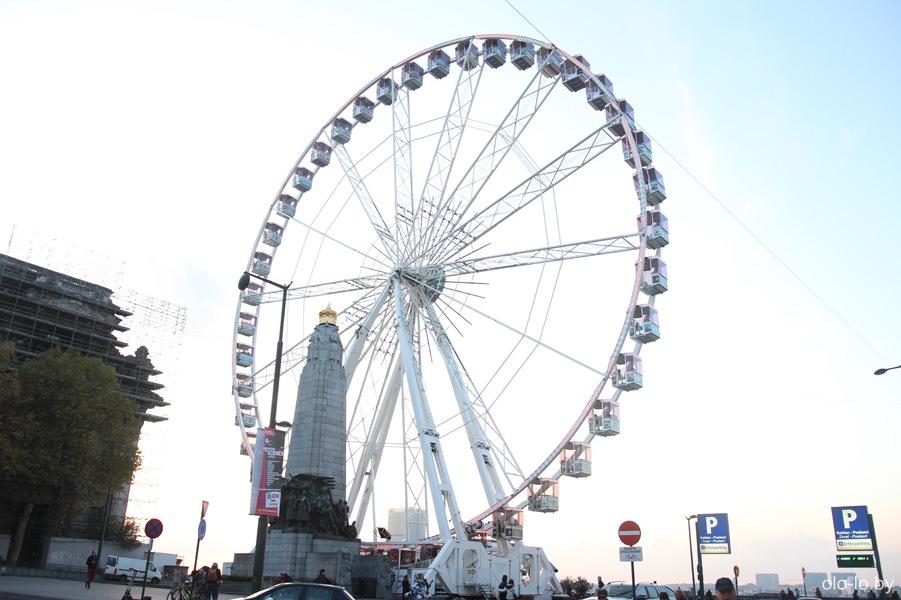 колесо обозрения, Брюссель