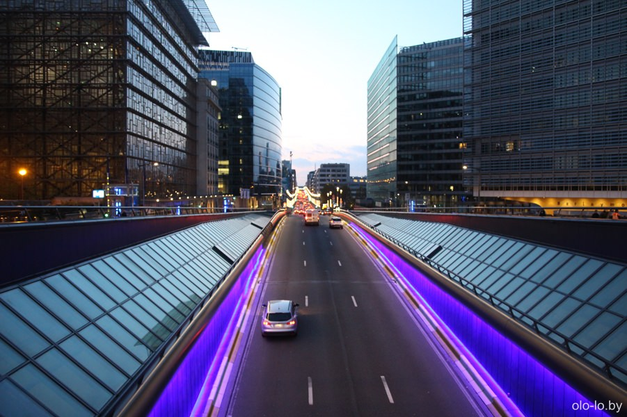 магистраль в Брюсселе
