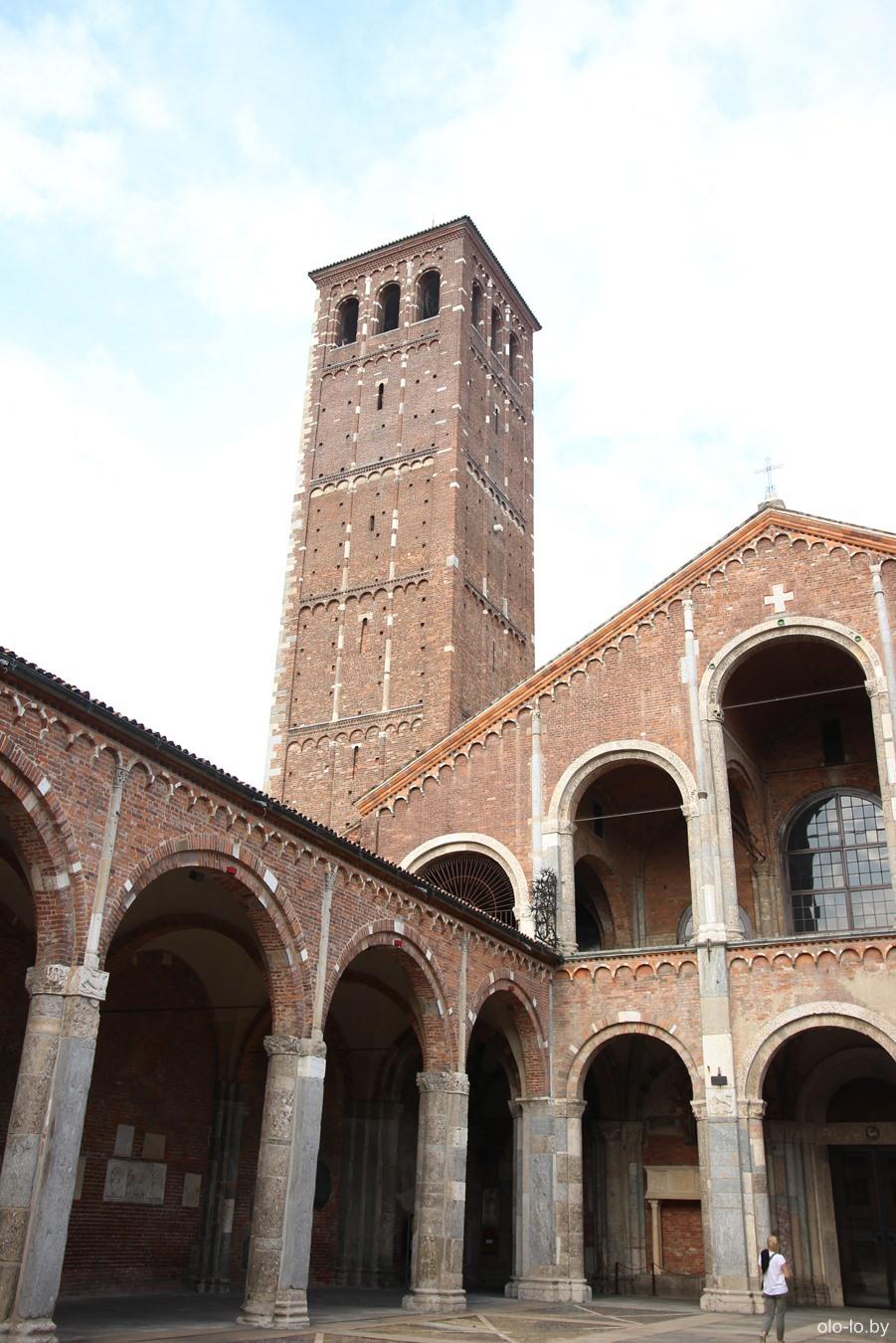 базилика Святого Амвросия, Милан