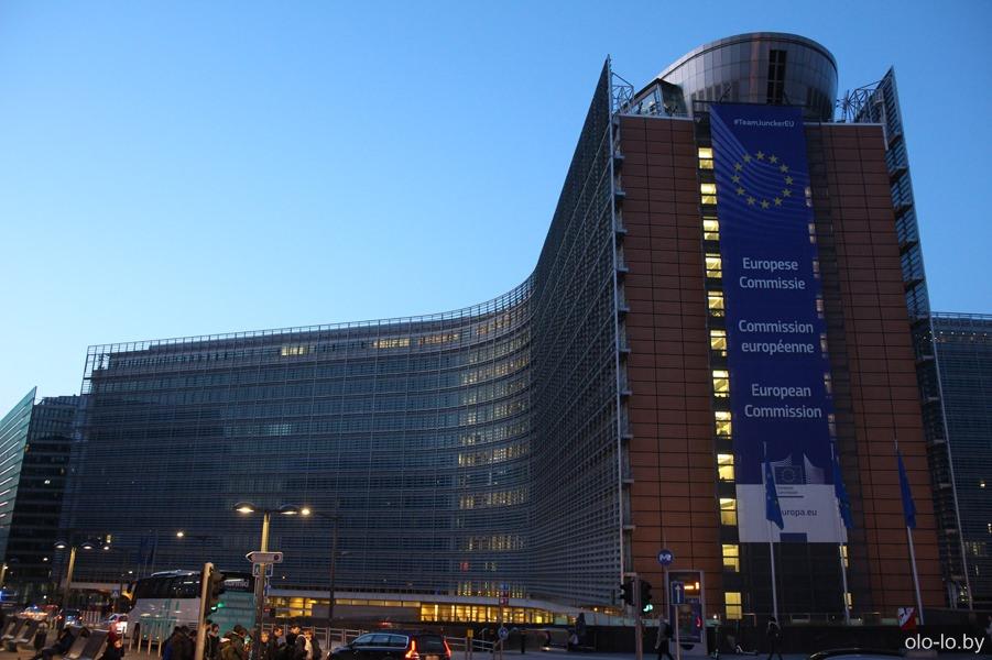 здание Европарламента, Брюссель