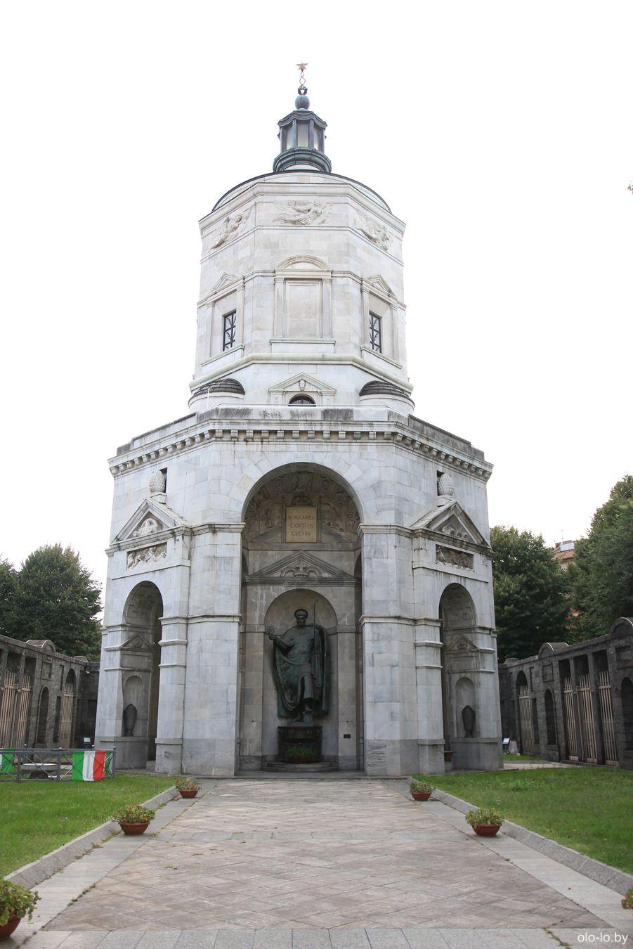 храм Победы, Милан